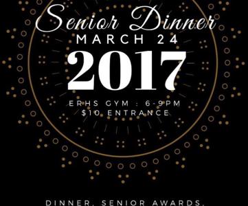 First Annual Senior Dinner!