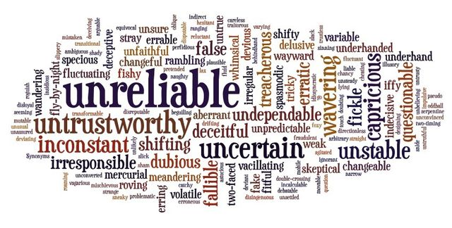 The Roosevelt Review   Unreliable People
