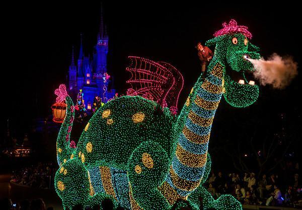 Disney's Electrical Parade Returns to Disneyland!!