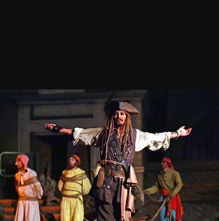 Johnny Depp Surprises Caribbean Riders
