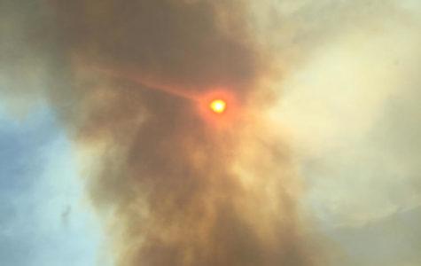 Flames amongst the Canyon