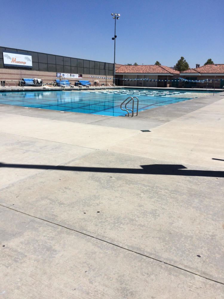 Picture of the ERHS Pool.
