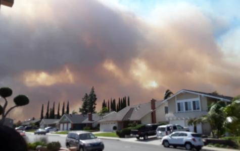 California on fire again!