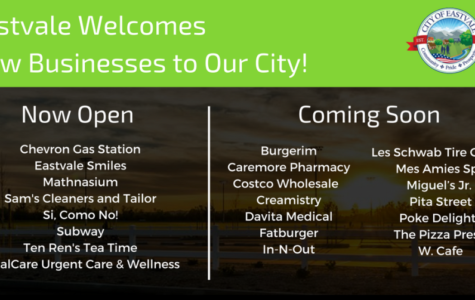 Eastvale Welcomes New Businesses