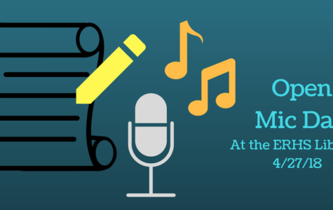 Open-Mic at the ERHS Library: poetry and karaoke extravaganza