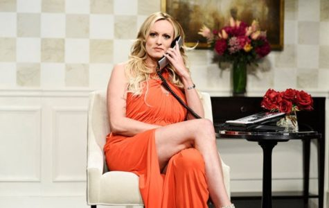 "Stormy Daniels portays herself in appearance on ""Saturday Night Live!"""
