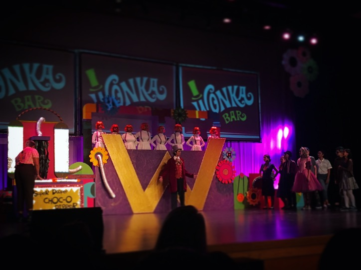 Willy Wonka Jr. is showing for just one weekend.