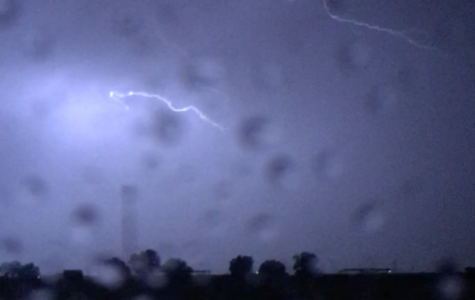 Homecoming Game Interrupted by Lightning Storm