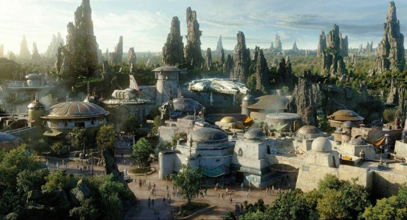 Disneyland Builds Star Wars: Galaxy's Edge