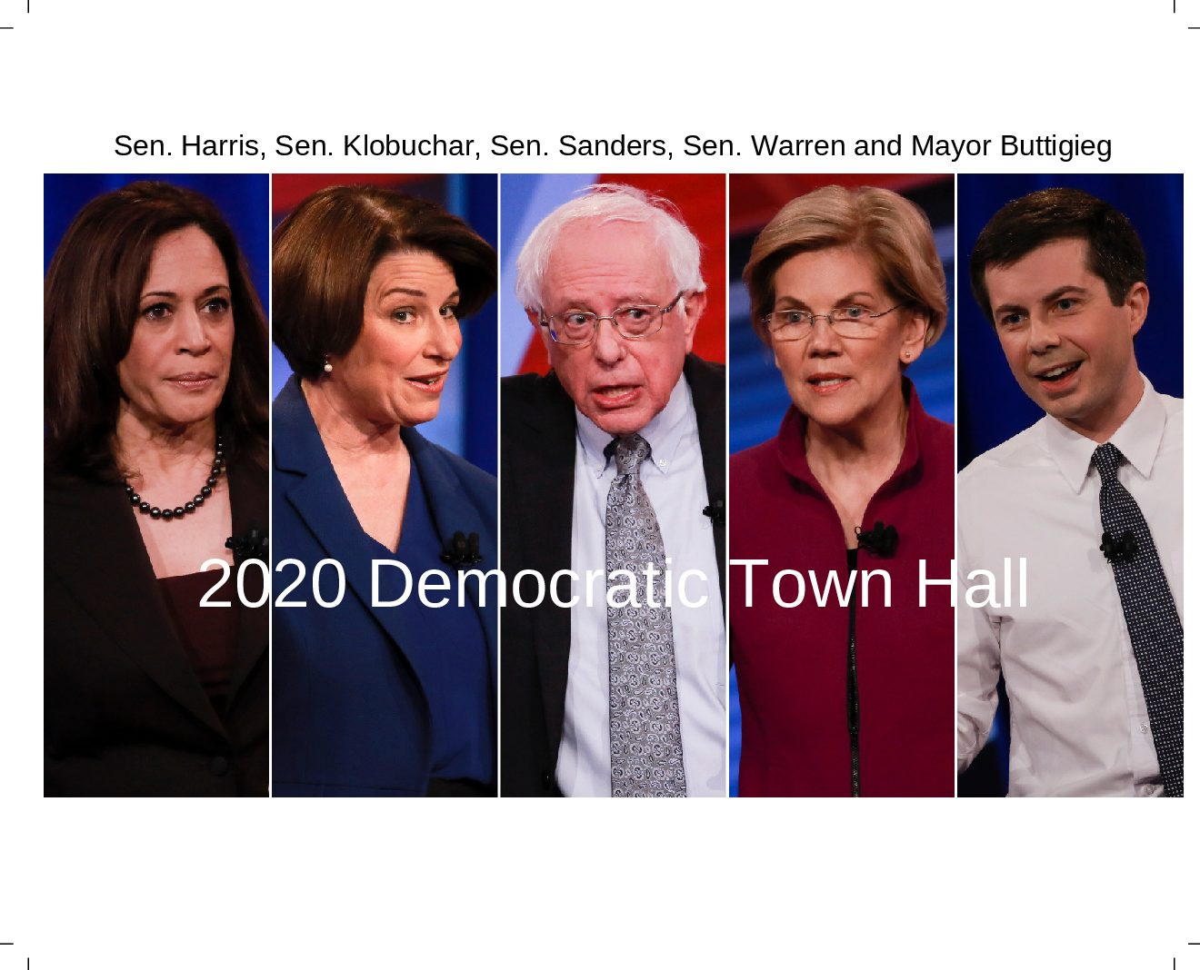 2020 Democratic Town Hall