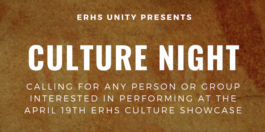 Pictured above, Culture Night Advertisement.