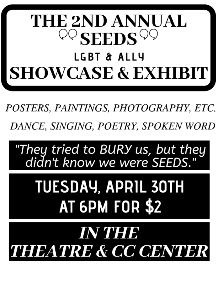 Information about the Seeds Showcase.