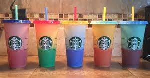 Starbucks' New Color-Changing Cups