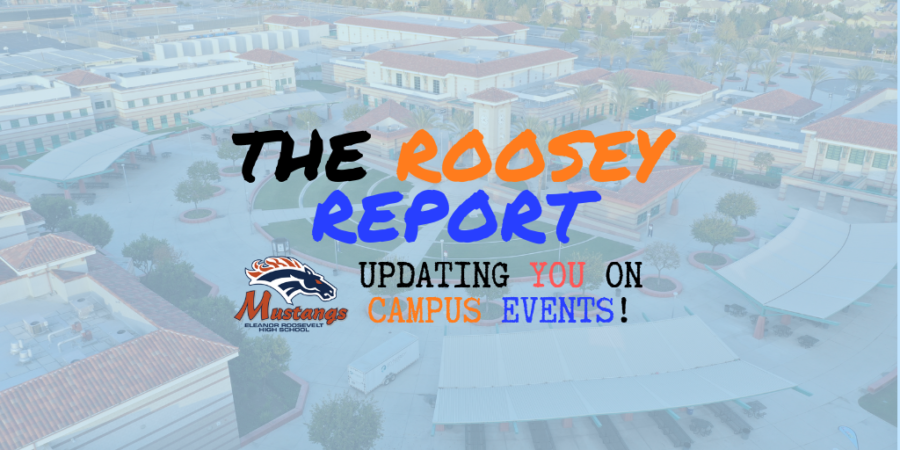 Pictured above, Roosey Report Logo