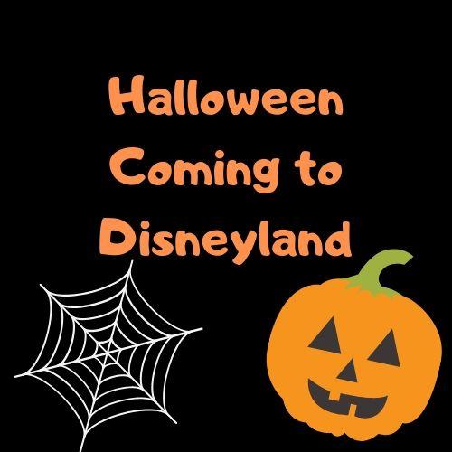 Disneyland's Halloween Event.