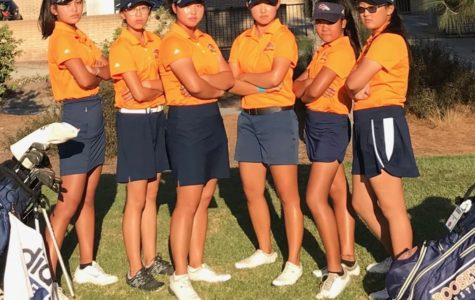 Girl's Varsity Golf Qualifies for CIF