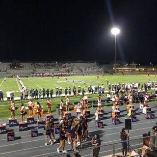 Football Falls to Tesoro but Student Section Stands Tall