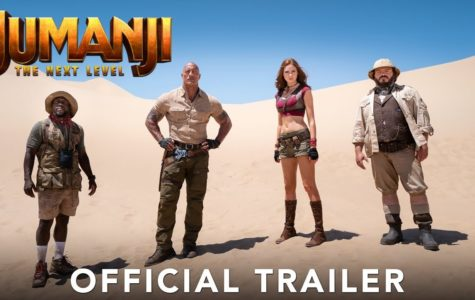 Jumanji 2: The Next Level Update with Poster