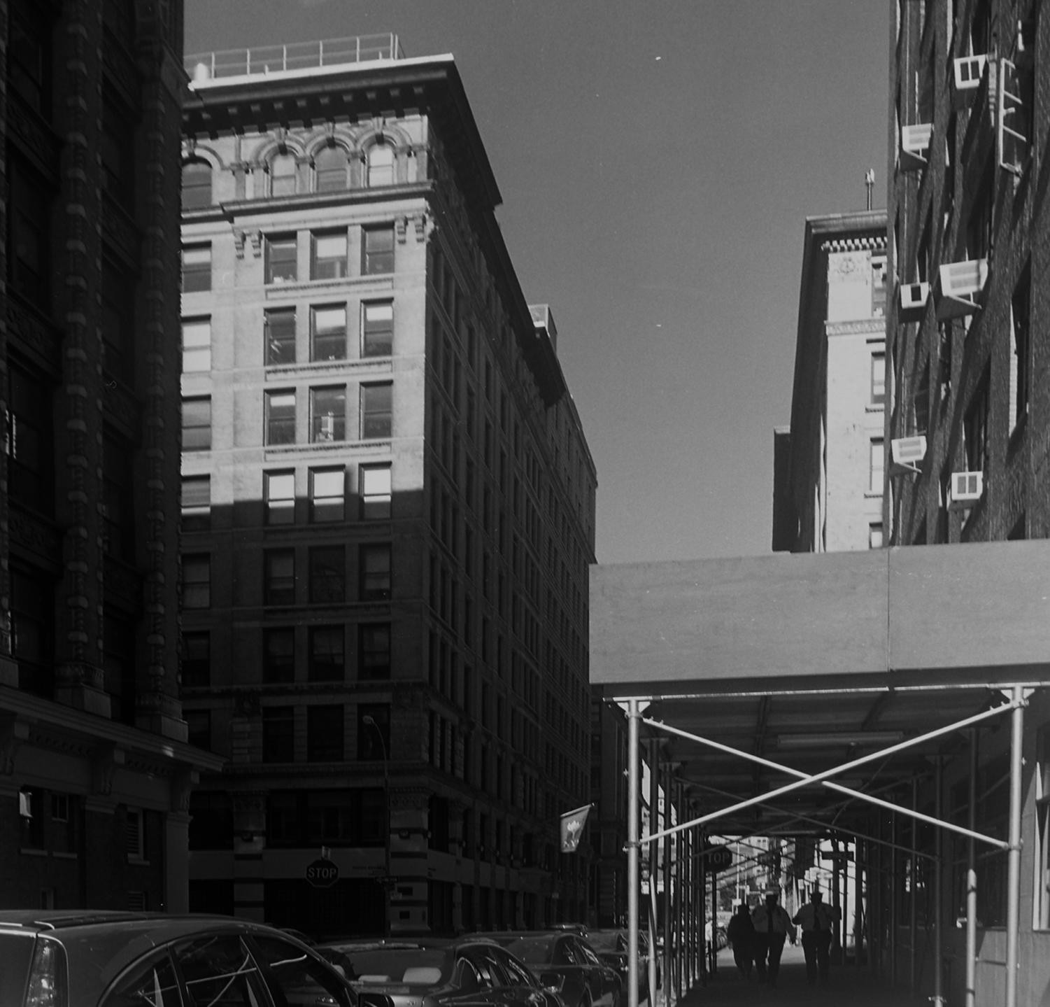 The building that housed The Triangle Shirtwaist Factory years later, now owned by NY