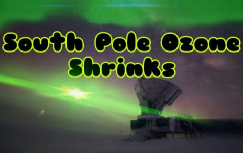 South Pole's ozone hole shrinks to smallest since last discovery