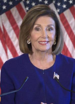 Speaker of the House of Representatives, Nancy Pelosi. PC: usatoday.com