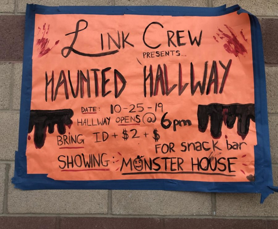 The+Haunted+Hallway+with+a+movie+and+a+snack+bar.+