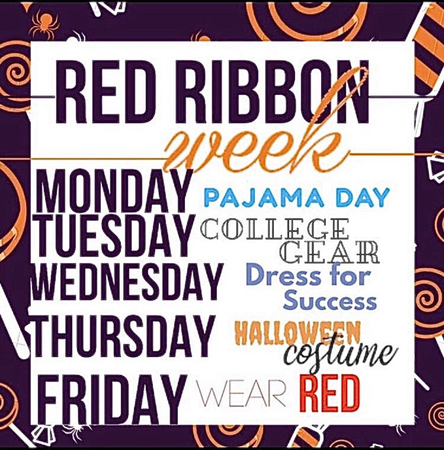 All+of+the+dress+up+days+for+Red+Ribbon+Week.