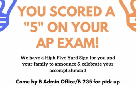 """""""High 5"""" for a 5 on Your AP Exam"""