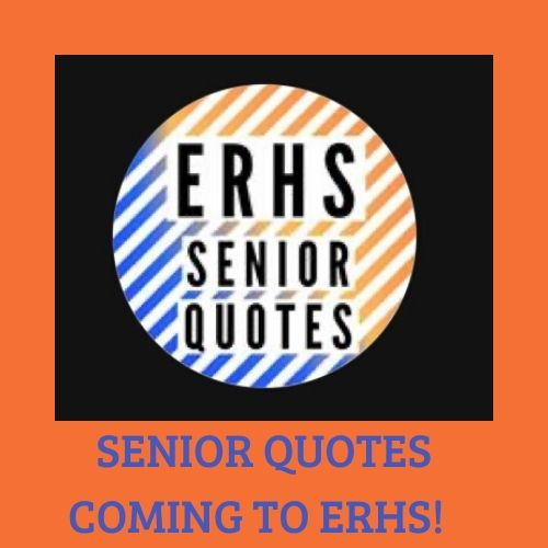 A design Jazmyn Andrews created to announce the senior quotes.
