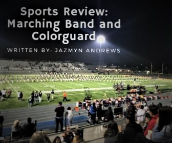 All of marching band performing Friday night Football game on November 15.