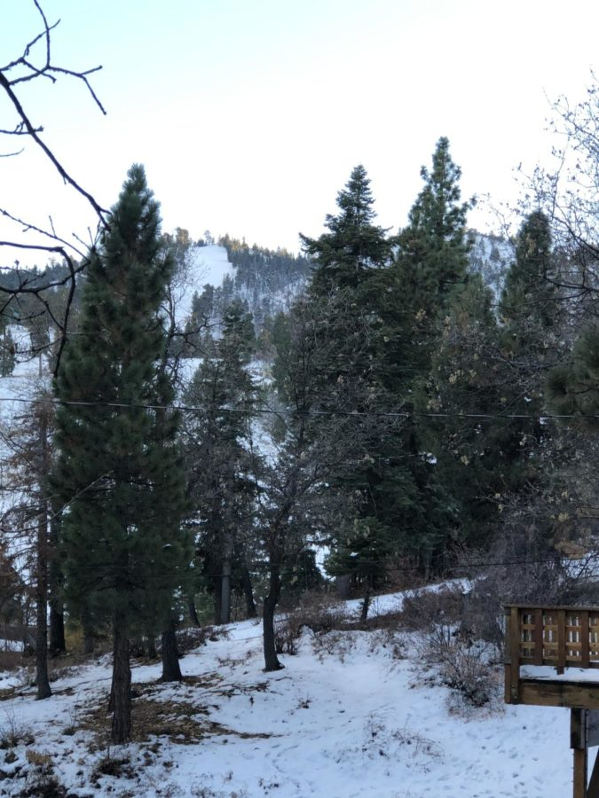 View from friends cabin in Big Bear