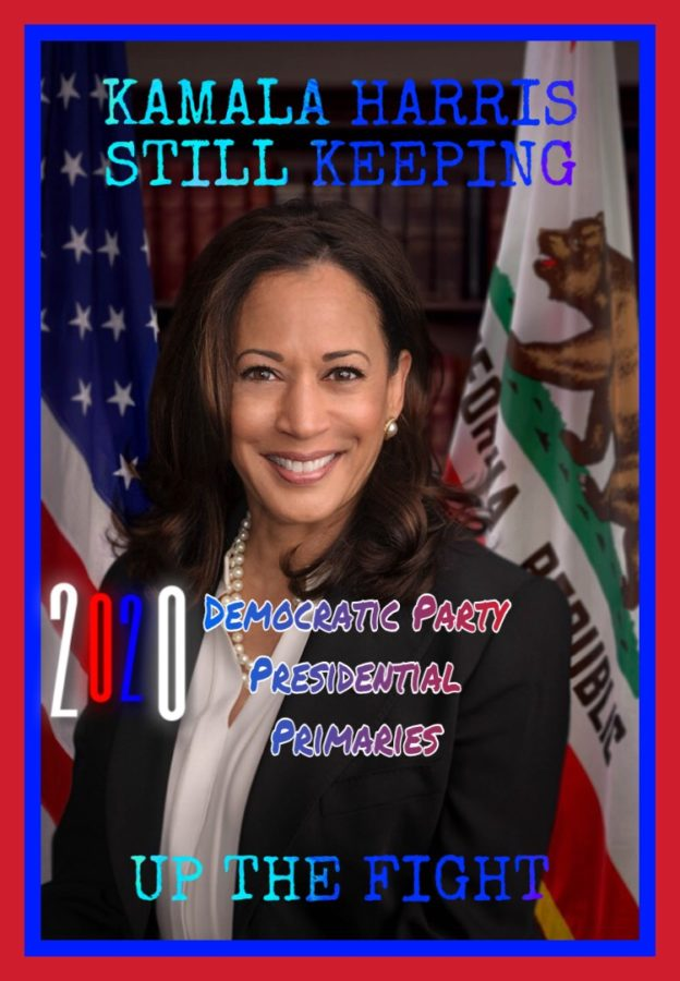 Harris dropped out of the presidential race on Tuesday, citing a lack of funds. Having risen to the top tier of Democratic candidates over the summer, she had for weeks been grappling with slowing momentum, sagging poll numbers and, reportedly, strategic disarray.