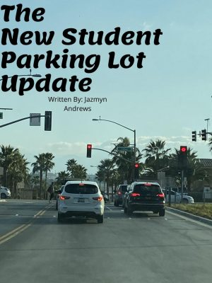 Student Parking Lot Update