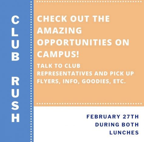 ERHS Club Rush: Semester 2