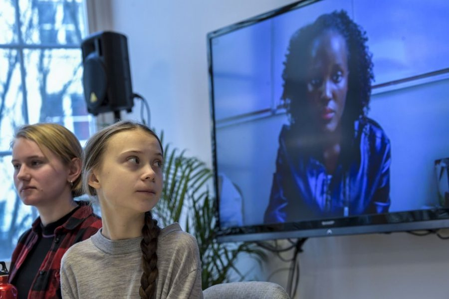 Greta Thunberg and African climate activists call attention to marginalized voices, demanding to be listened to.