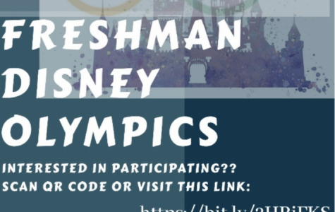Flyer/ Sign-Up for this years freshman olympics.