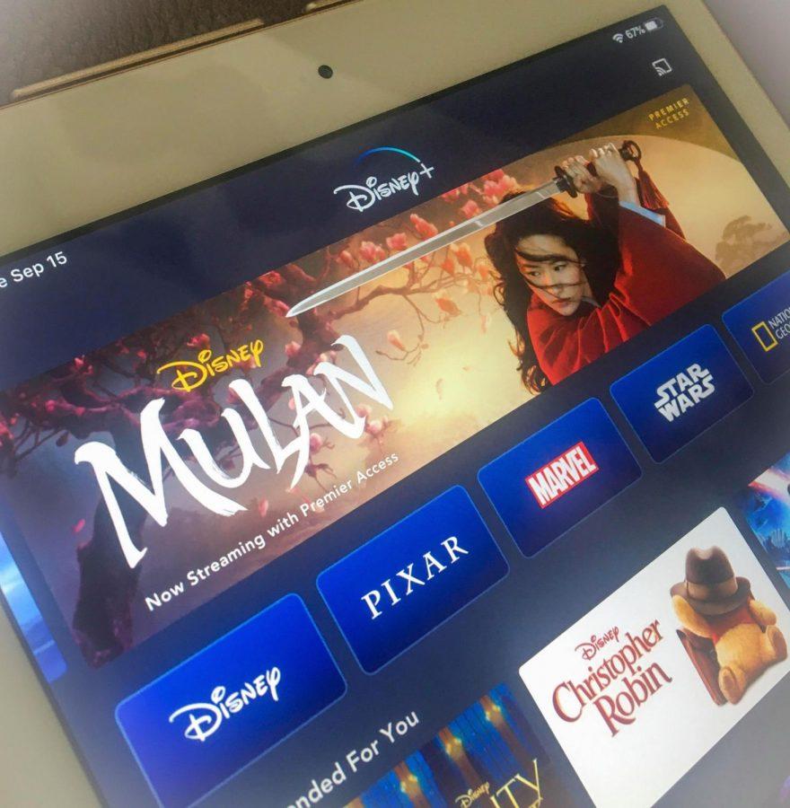 The new Mulan on Disney Plus