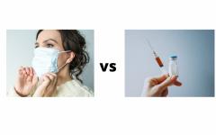 Navigation to Story: Masks vs. COVID-19 vaccine
