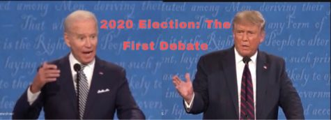The first of three scheduled debates occured on September 29th, to determine who the next president of the United States will be. (Edited by me)