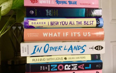 LGBT+ books that I have either read or are on my to-read pile.