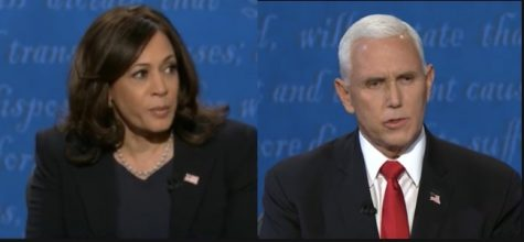 Senator Kamala Harris and Vice President Mike Pence faced off in the lone vice presidential debate on Wednesday. (edited by me)