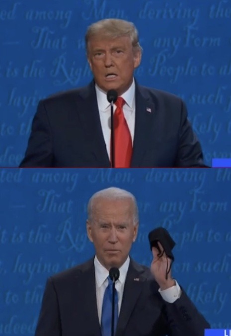 The final debate between Trump and Biden occurred on October 22nd. (edited by me.)