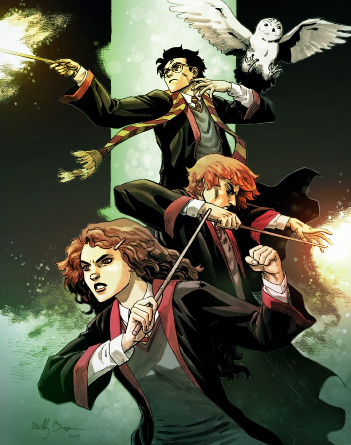Harry Potter Fanart- Wikimedia Commons