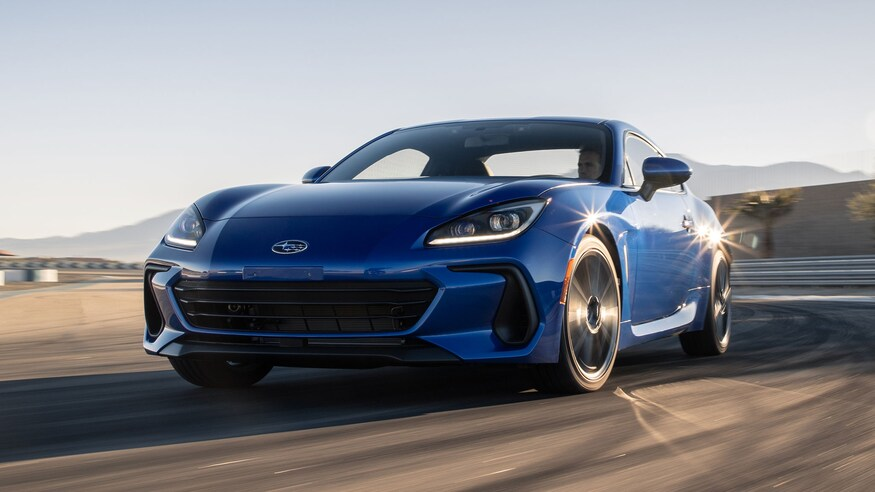 The all-new 2022 Subaru BRZ