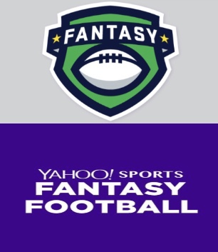 The two premier apps that fantasy football managers use, ESPN (top) and Yahoo (bottom)