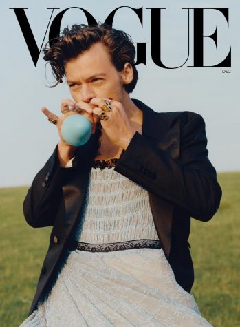 This is the cover image for the December 2020 issue of Vogue.
