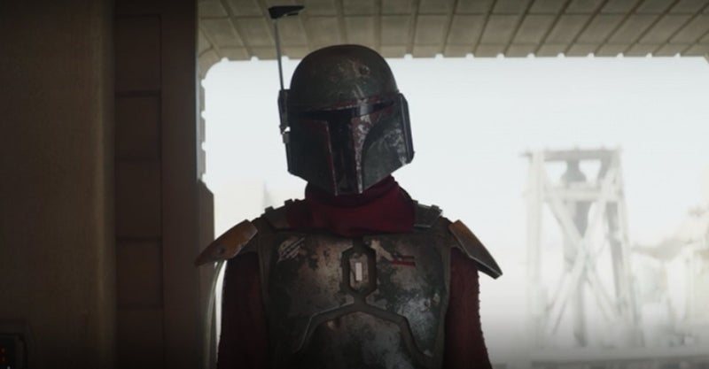 Boba Fett's armor in the first episode of season 2.