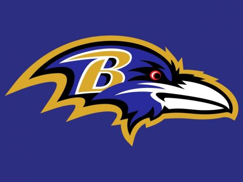 The Baltimore Ravens current team logo.