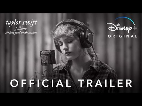Disney+ Advertisement for folklore: the long pond studio sessions