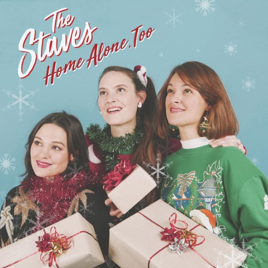 The album cover of the Home Alone, Too single by The Staves